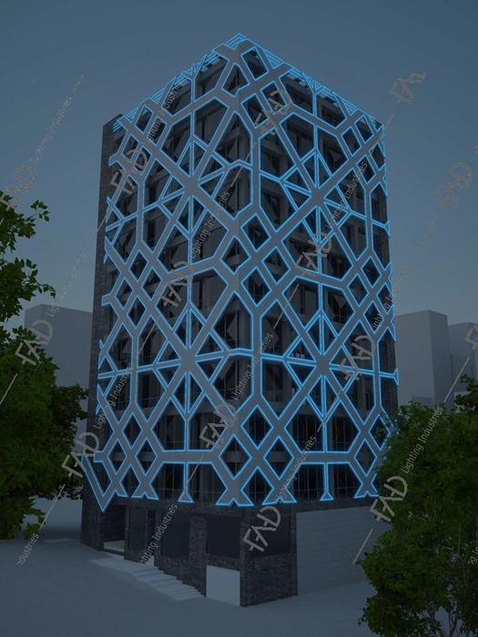 شرکت روشنایی فاد - مرکز اداری تجاری الوند