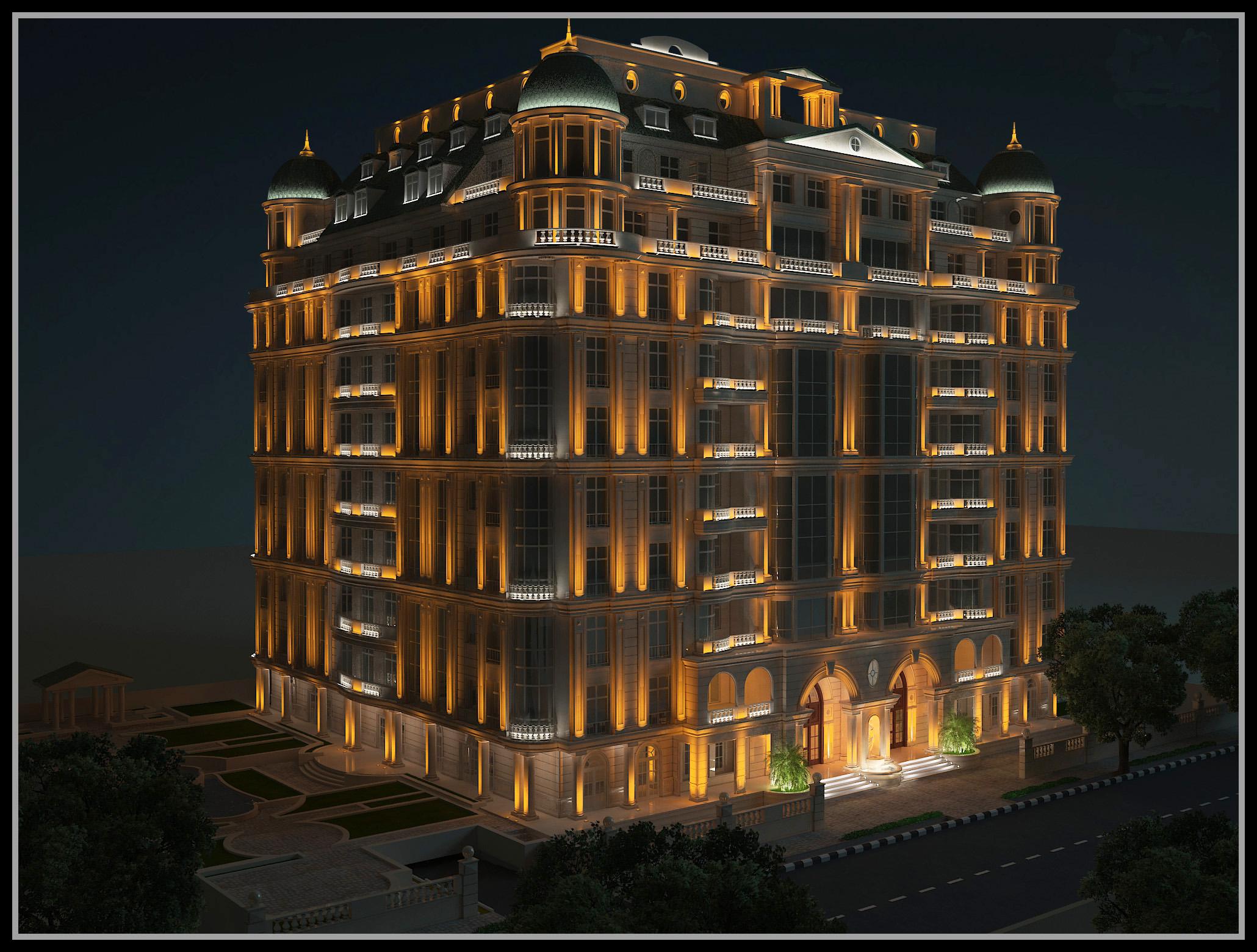 شرکت نورپردازی فاد - مجتمع مسکونی لادن