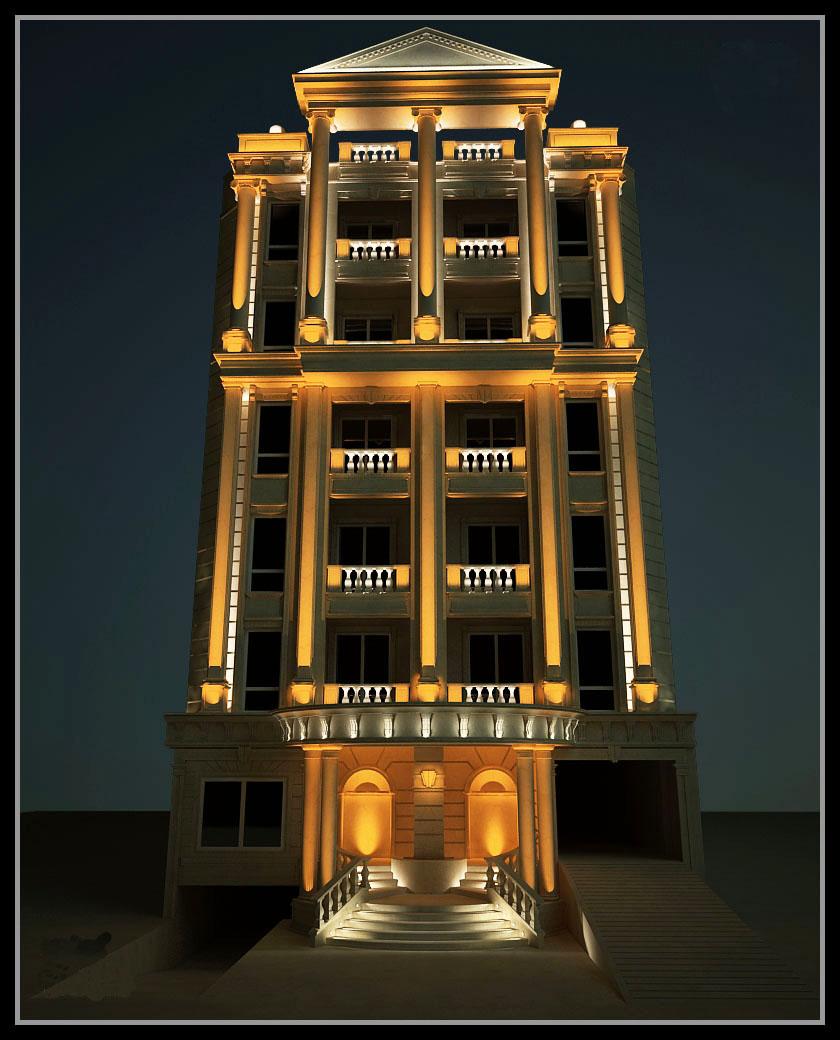شرکت نورپردازی فاد - مجتمع مسکونی کوروش