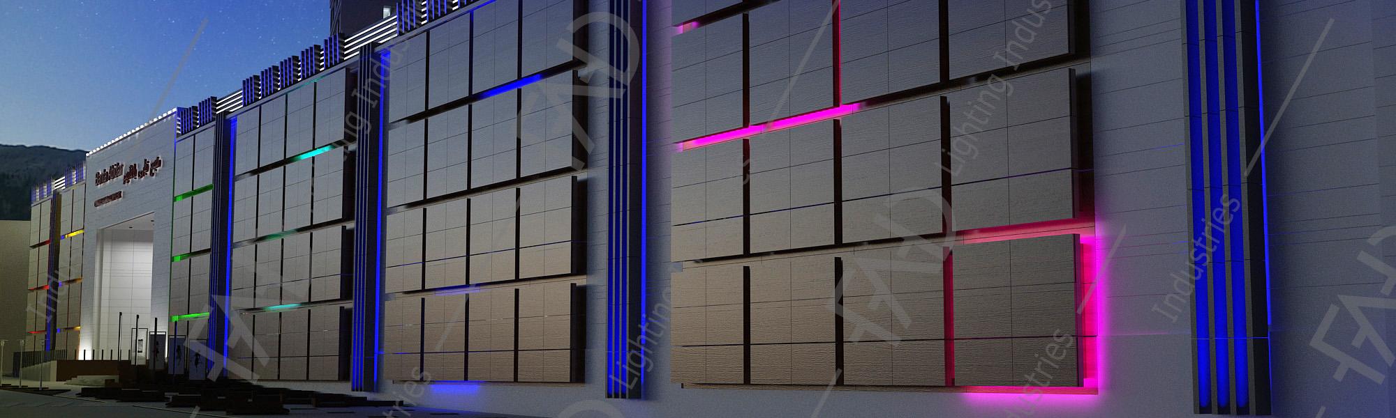 شرکت نورپردازی فاد - مجتمع تجاری بانتا