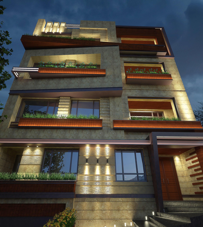 شرکت نورپردازی فاد - مجتمع مسکونی نگارستان
