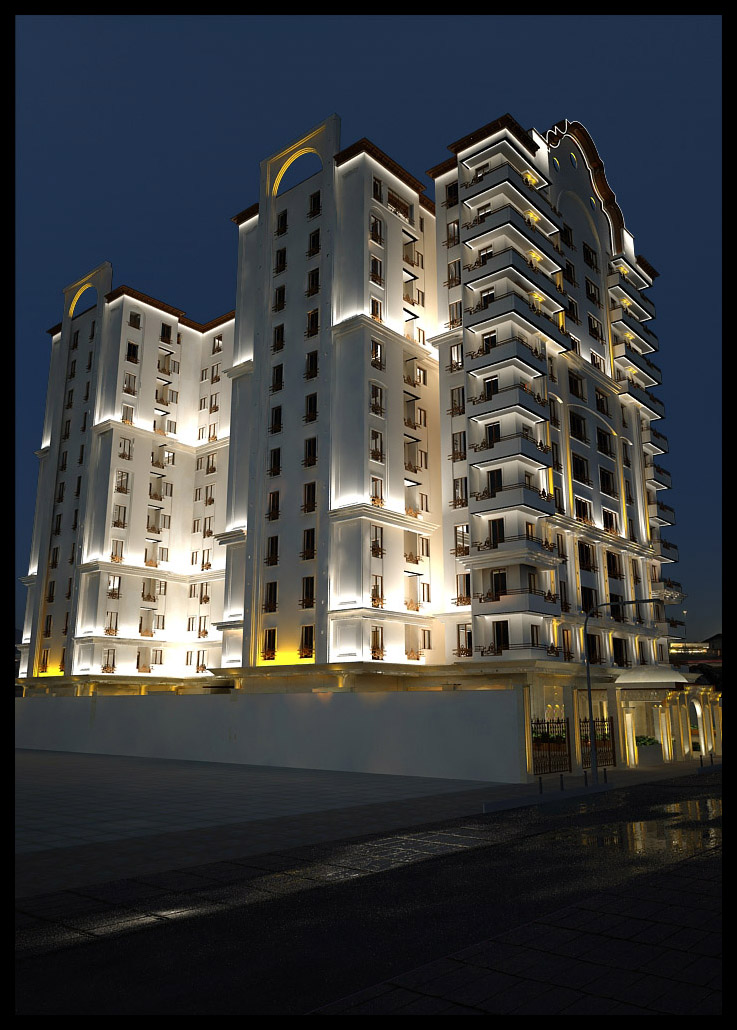 شرکت نورپردازی فاد - مجتمع مسکونی مقداد