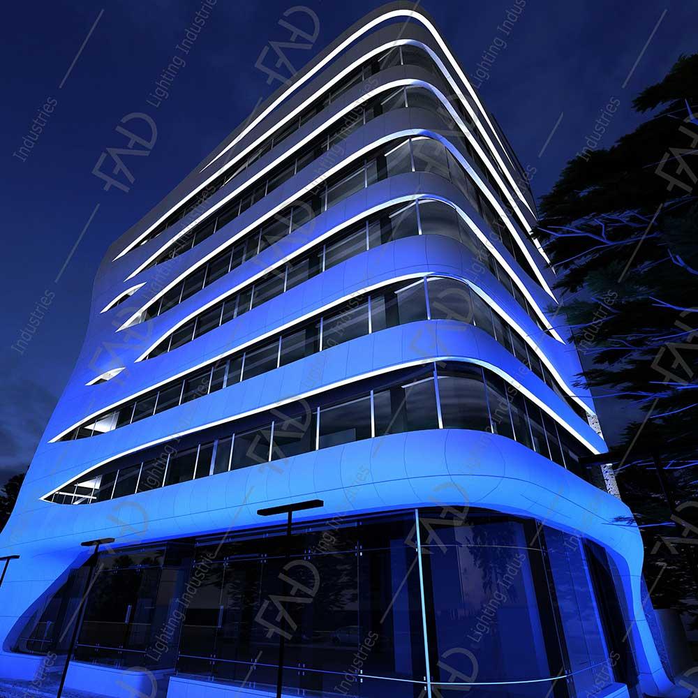 شرکت نورپردازی فاد - مجتمع اداری تجاری یاس الهیه