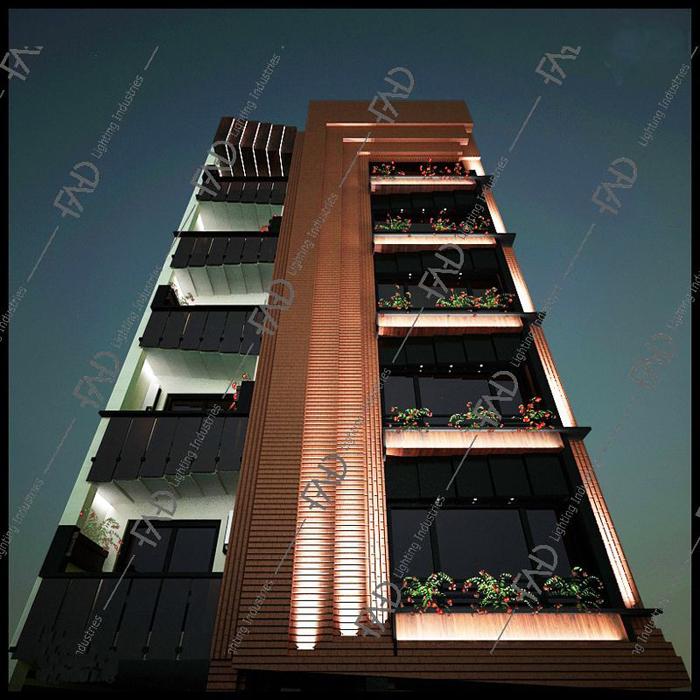 شرکت نورپردازی فاد - مجتمع مسکونی آفتاب