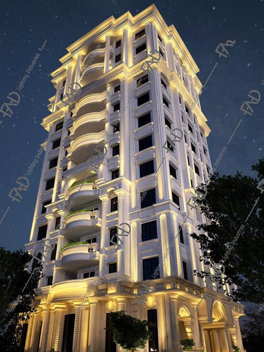 شرکت نورپردازی فاد - برج آرام