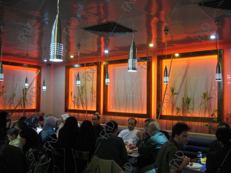 شرکت نورپردازی فاد - رستوران باگت