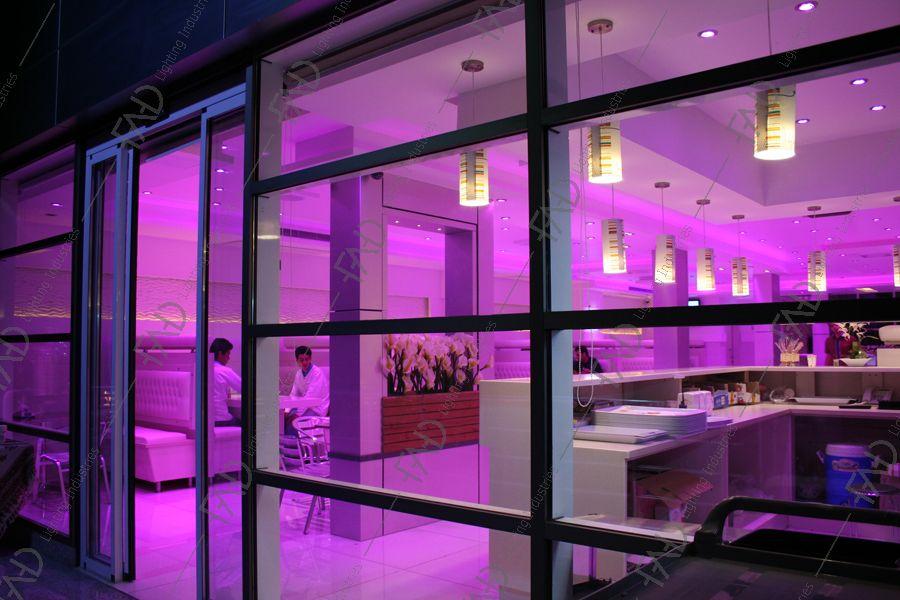 شرکت نورپردازی فاد - فست فود نون