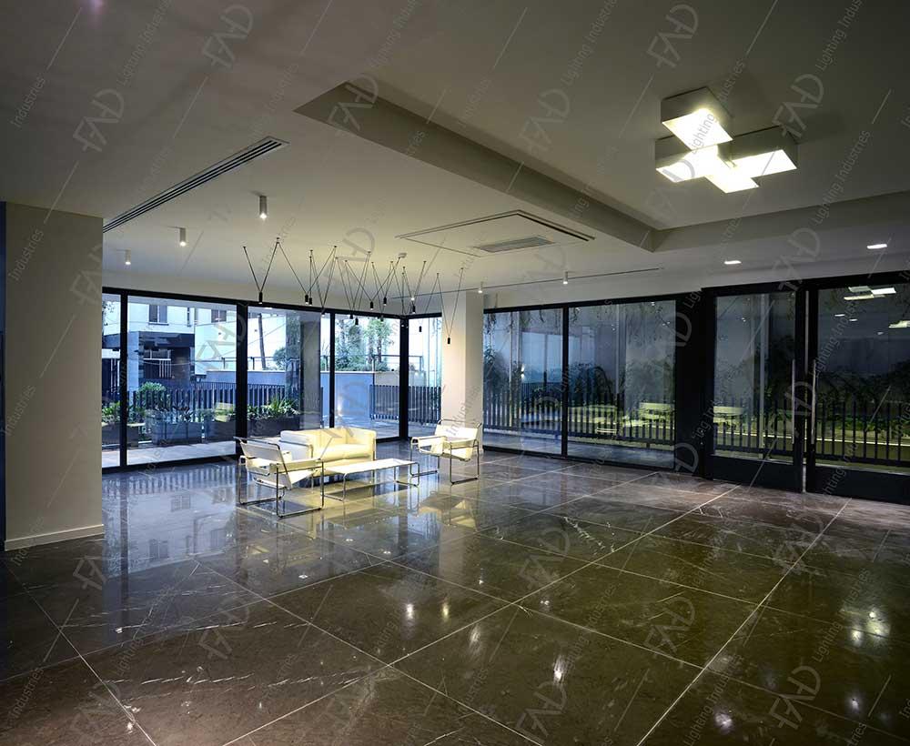 شرکت نورپردازی فاد - مجتمع مسکونی BW7