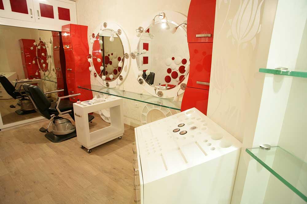 شرکت نورپردازی فاد - سالن زيبايی ويس