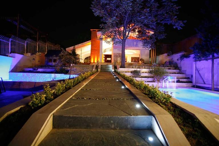 شرکت نورپردازی فاد - ویلا