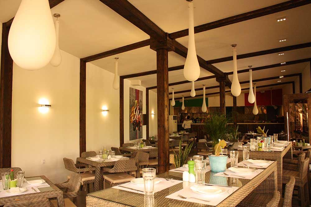 شرکت نورپردازی فاد - رستوران پستو