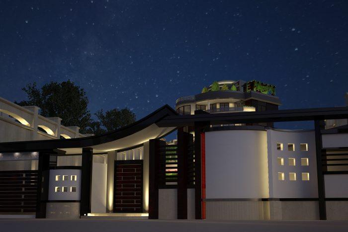 شرکت روشنایی فاد - ویلای آبعلی