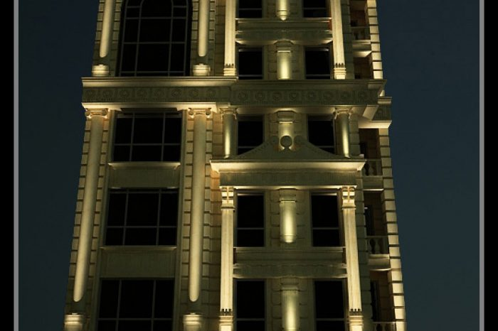 شرکت نورپردازی فاد - مجتمع مسکونی پارسا