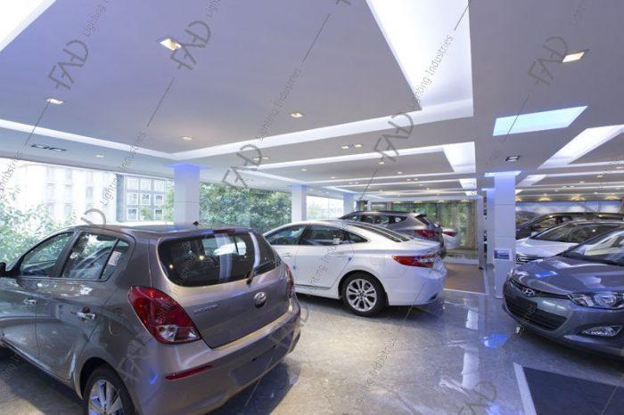 شرکت نورپردازی فاد - نمایشگاه ماشین