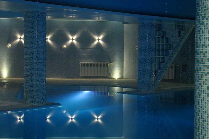 شرکت نورپردازی فاد - استخر مجتمع مسکونی