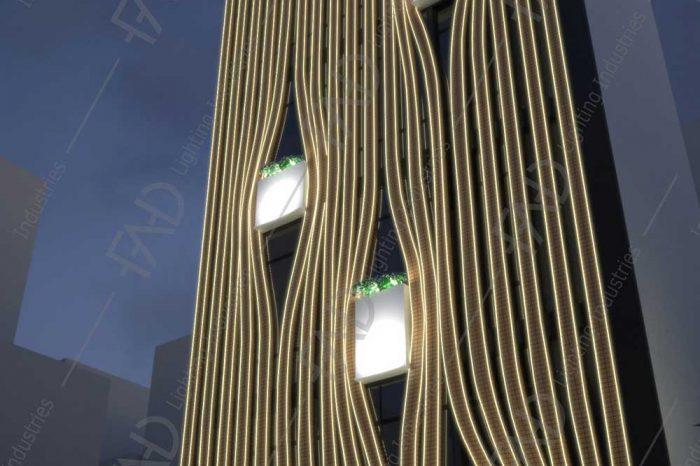 شرکت نورپردازی فاد - ساختمان مسکونی پیامبر